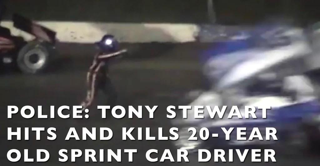 VIDEO: NASCAR's Tony Stewart Kills 20 Year Old Sprint Car Driver