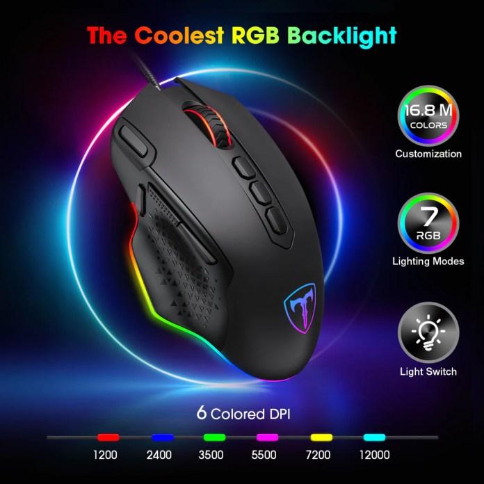Pictek Rgb Gaming Mouse Ipictek