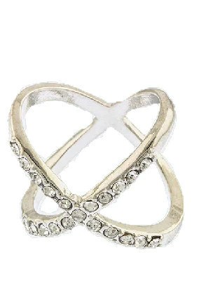 X Ring (Rose-Gold) – Jewel Candy