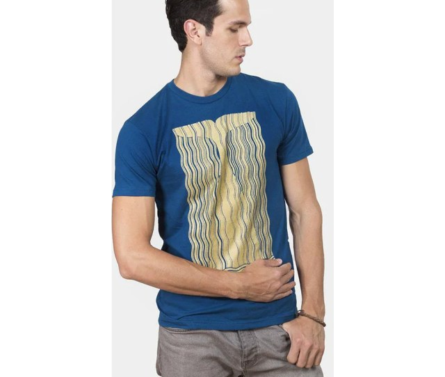 Out Of Print Moby Dick Mens T Shirt Blue B