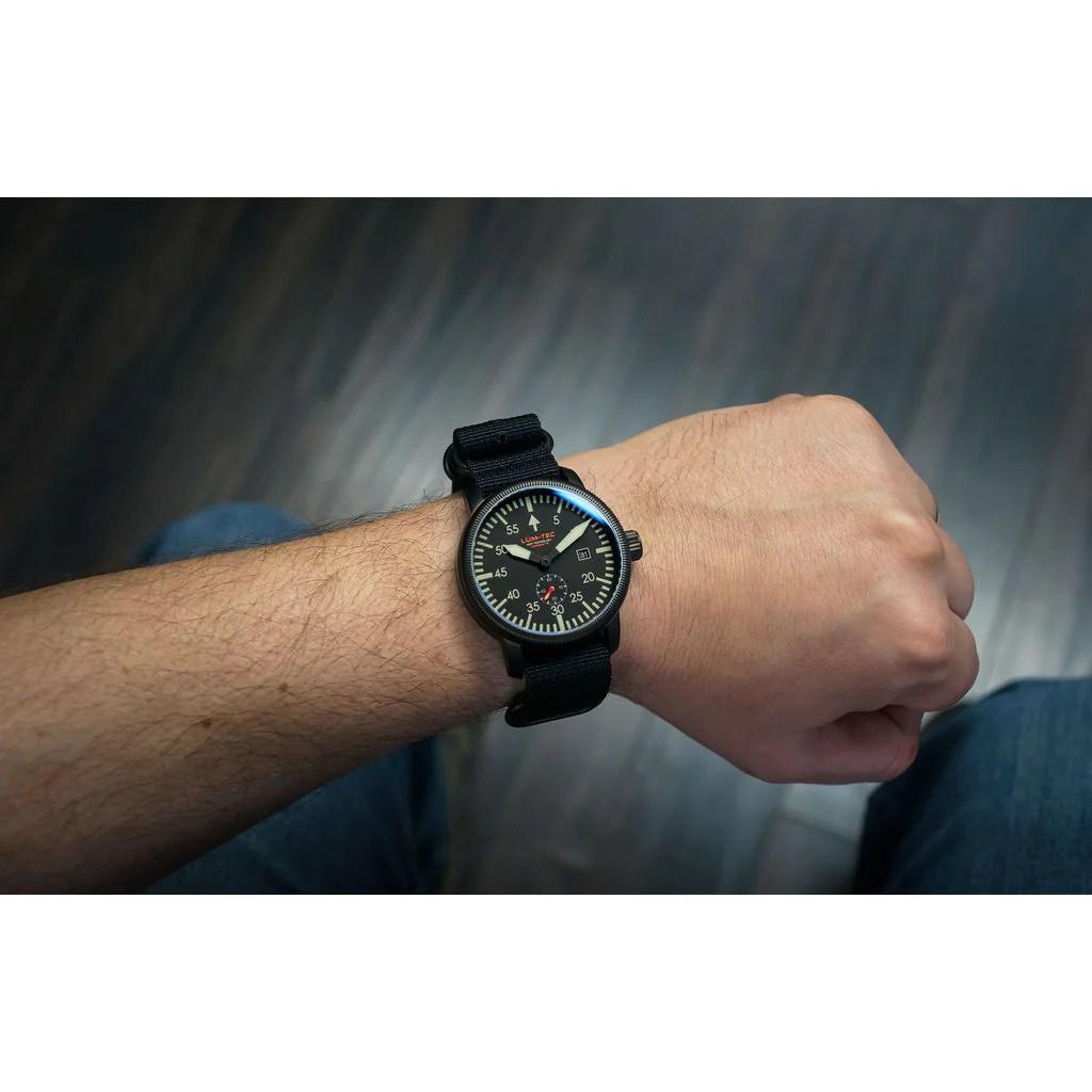 lum tec combat b40 watch nylon strap