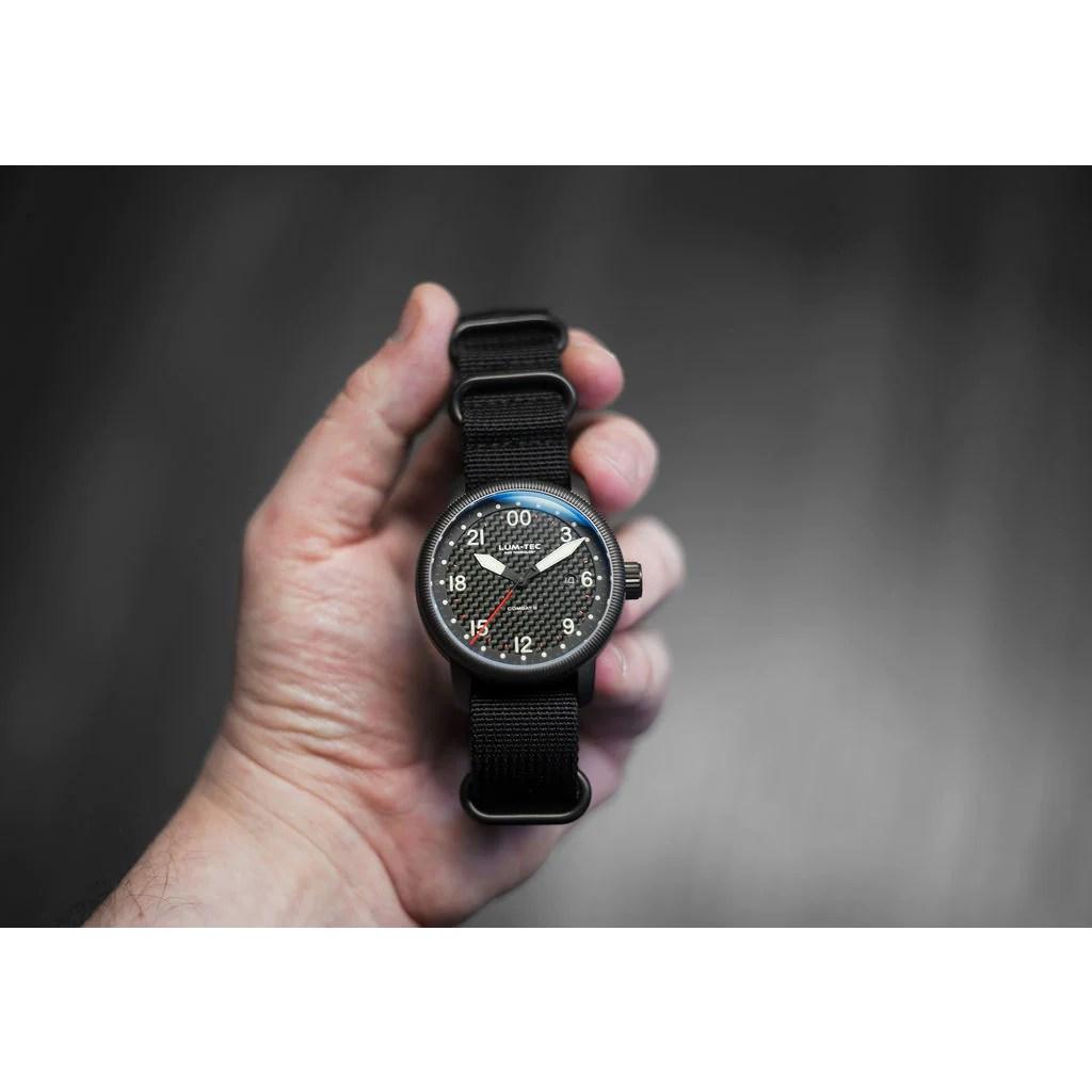 lum tec combat b41 24hrs watch nylon strap