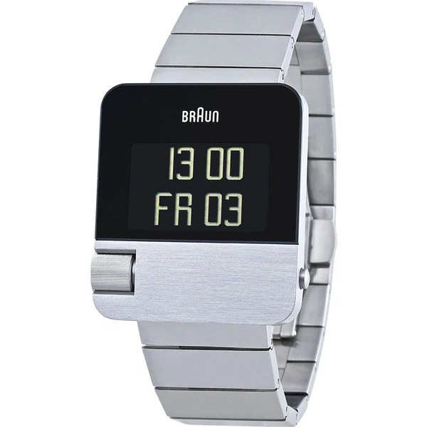 Braun Steel Prestige Digital Men's Watch Steel BN0106SLBTG ...