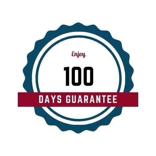 100 days guarantee