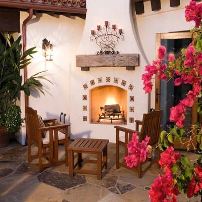 Mexican tile idea galleries - Mexican Tile Designs on Mexican Backyard Decor  id=14080