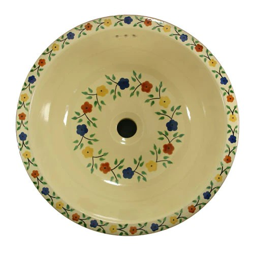 Traditional Mexican Sink Bouquet Especial Mexican Tile