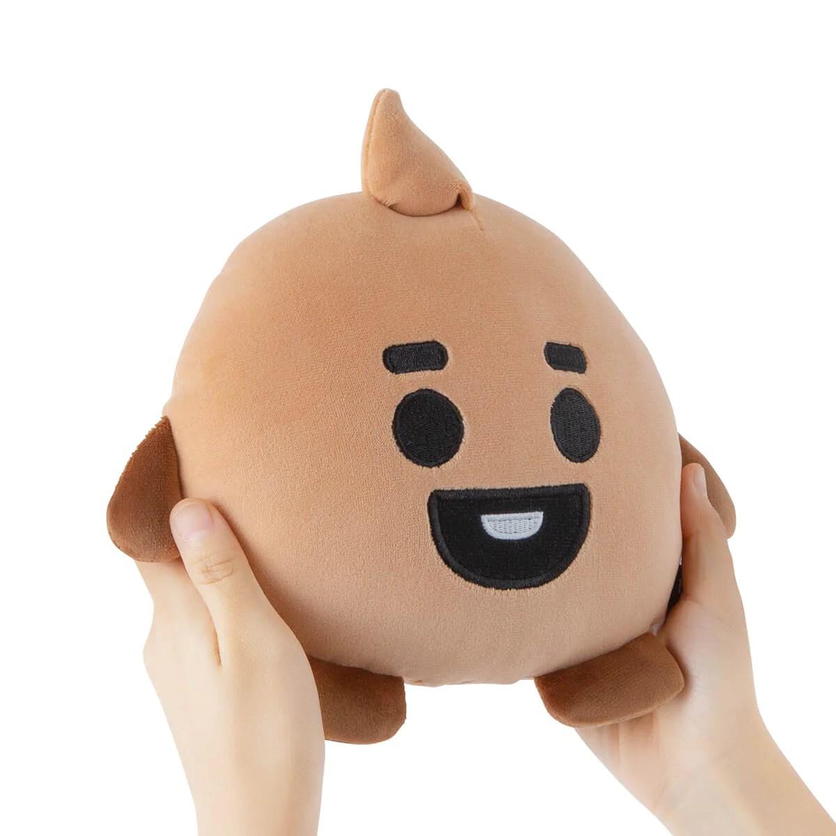 bt21 shooky baby mini body cushion