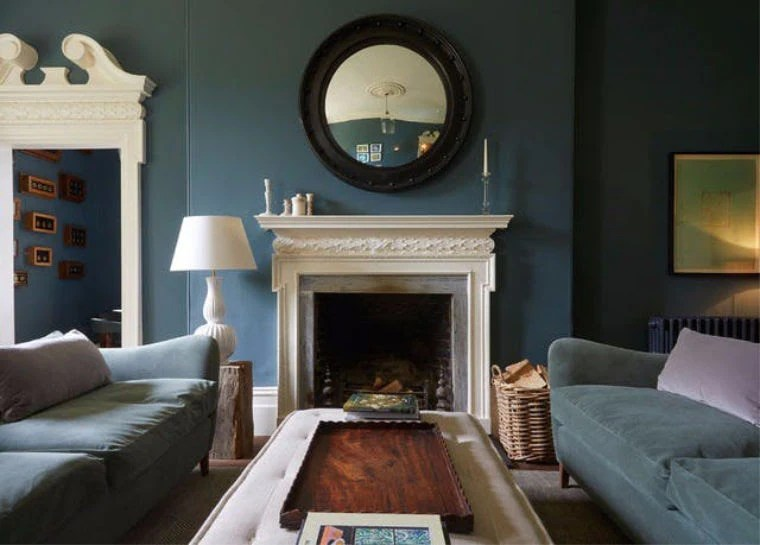 Living Room Colour Ideas Dark Versus Light Such Such
