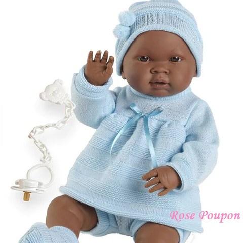 poupée bébé reborn métisse
