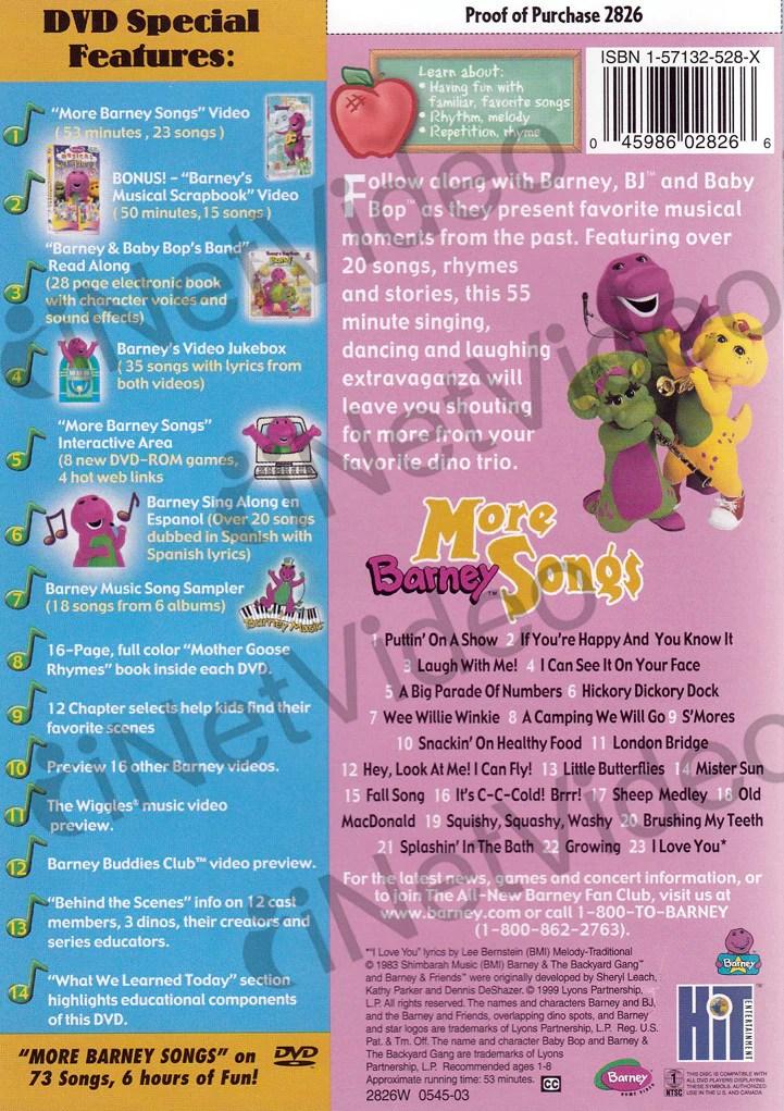 Barney Christmas Dvd Menu S