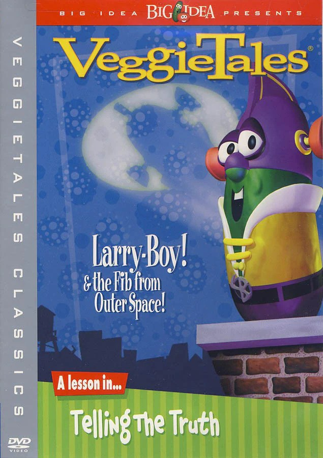 VeggieTales Classics Larry Boy And The Fib From Outer