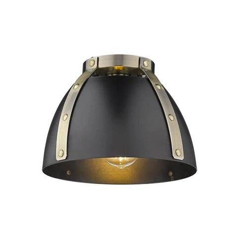 karl 1 light flush mount