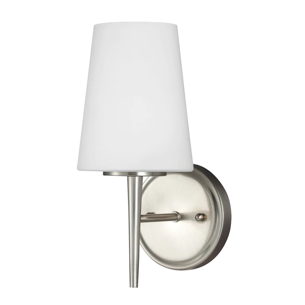 Driscoll Chandelier 5-Light Brushed Nickel I Seagull ... on Bathroom Sconce Lights Brushed Bronze id=18260