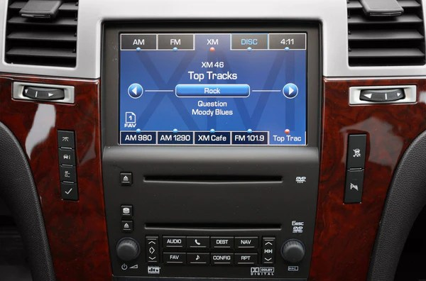20072009 Escalade Navigation System Factory GPS Radio – Infotainment