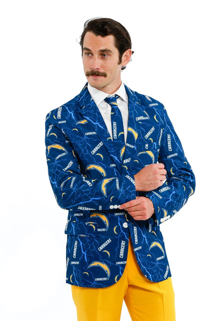 The San Diego Chargers Suit Jacket Shinesty