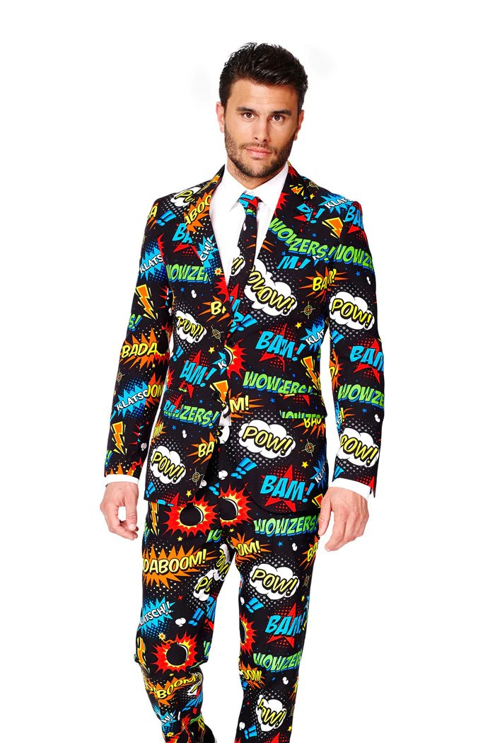 An Ode To Comic Con Dress Suit By Opposuits