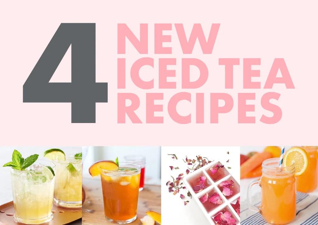 4 New Flat Tummy Iced Tea Recipes