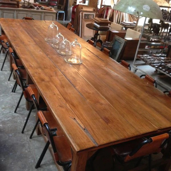16 Seater Recycled Timber Dining Table Mulbury