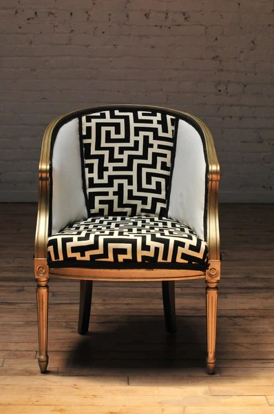 Barrel Chair-Vivian