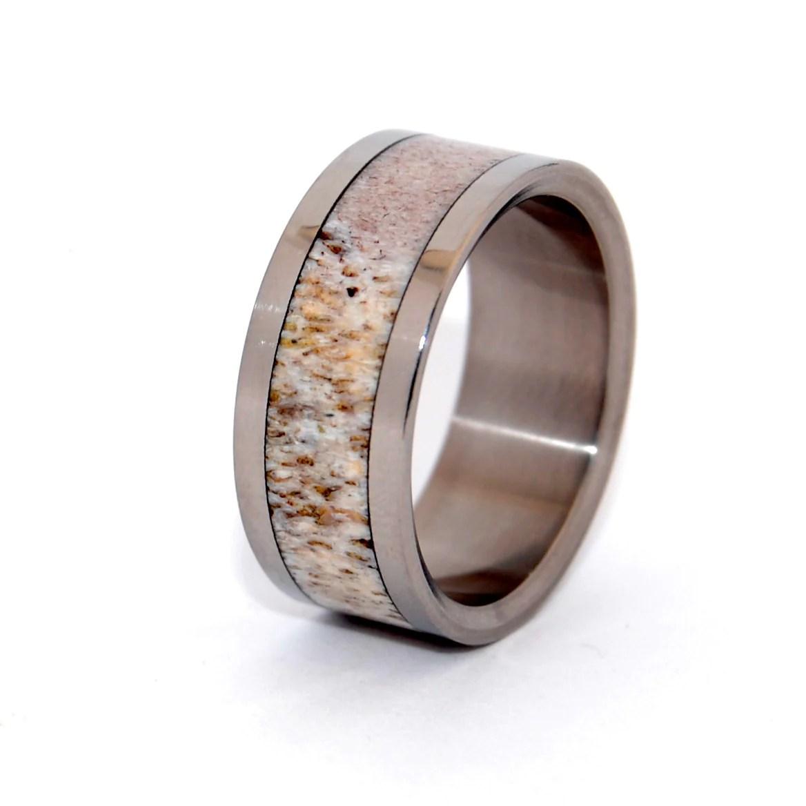 Trendy Wedding Rings In 2016 Titanium Wood Wedding Rings