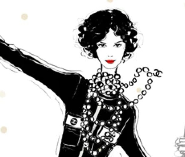 To Celebrate The Release Of Coco Chanel The Illustrated Life Of A Fashion Icon Megan Hess Has Created A Special Set Including A Signed Copy Of Her New