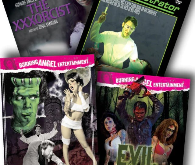 Horror Parody Porn 4 Pack Deal Autographed