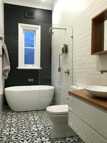 fusion de styles une salle de bains