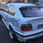 3 Series E36 Bmw Compact Rear Top Window Spoiler Lip Kick Ducktail Unique Customs