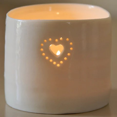 Luna Mini Heart Tealight by Luna Lighting. NHS, Lockdown, Corona Virus