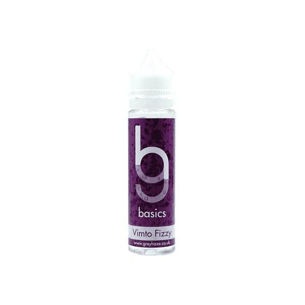 Grey Haze Basics - Vimto Fizzy - 50ml Short Fill