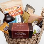 Gluten Free Gourmet Gift In A Seagrass Basket Gift Hamper For Him Or Her The Gift Loft Nz The Gift Loft Nz Quality Online Gift Ideas For All Occasions