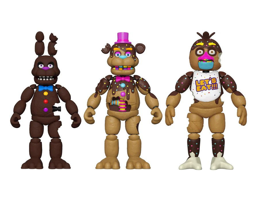 Funko Five Nights At Freddys Special Delivery Chocolate Action Figures