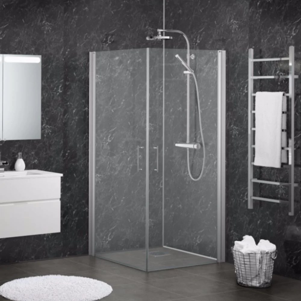 three sided shower wall panel kit pick a colour