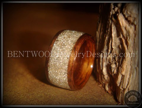 Inlay Bentwood Rings Handcrafted Wood Rings Bentwood