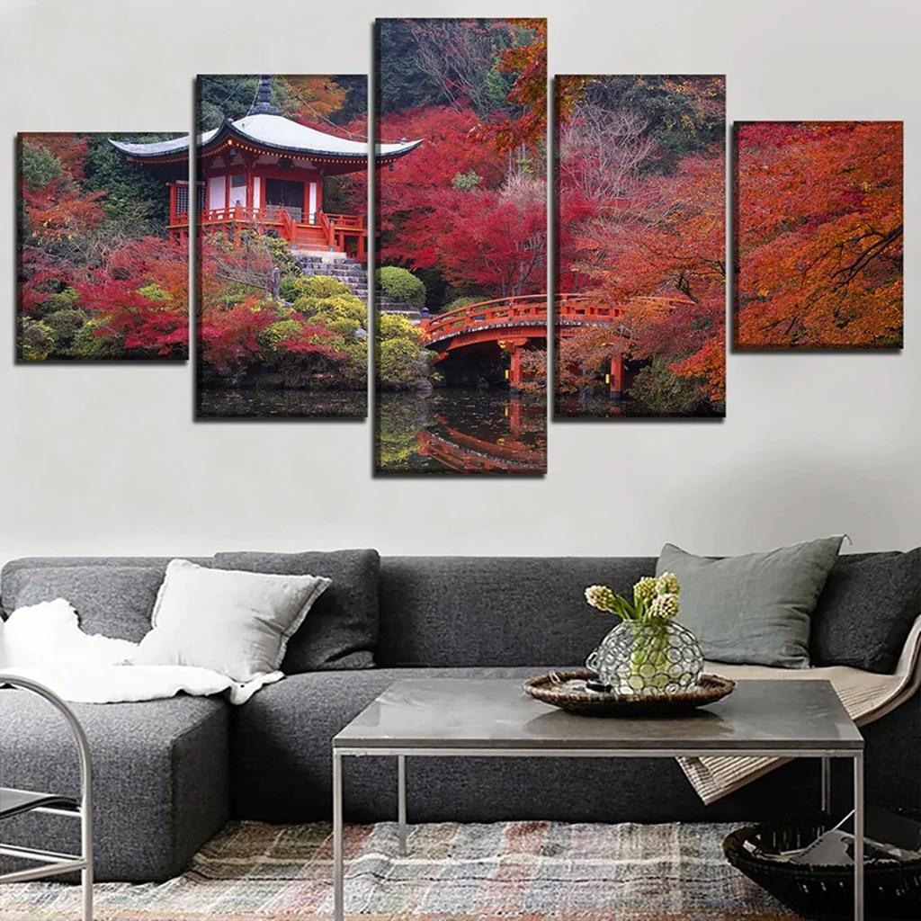 tableau japonais printemps