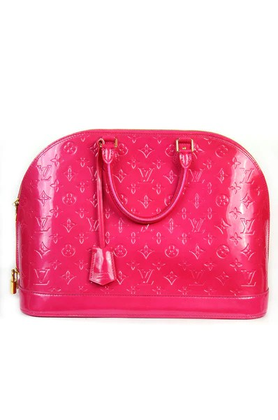 Louis Vuitton Limited Edition Rose Pop Vernis Alma GM