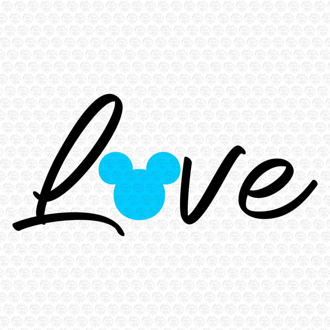 Download Love Mickey Disney, Disney love Svg, Mickey Svg, Minnie ...