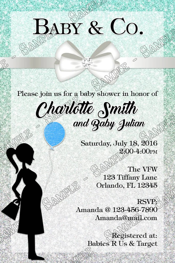 Baby Shower Invitations Personalized