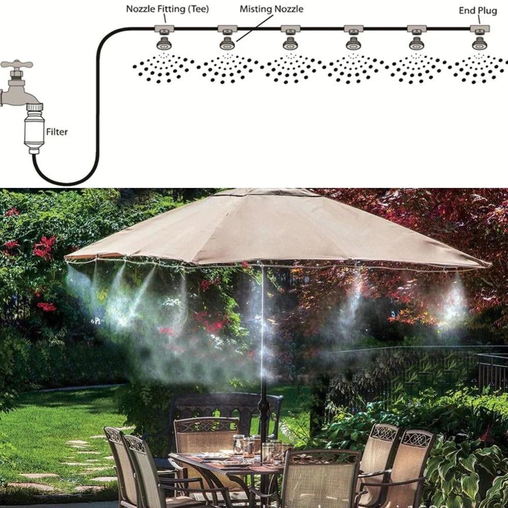 diy outdoor misting system online