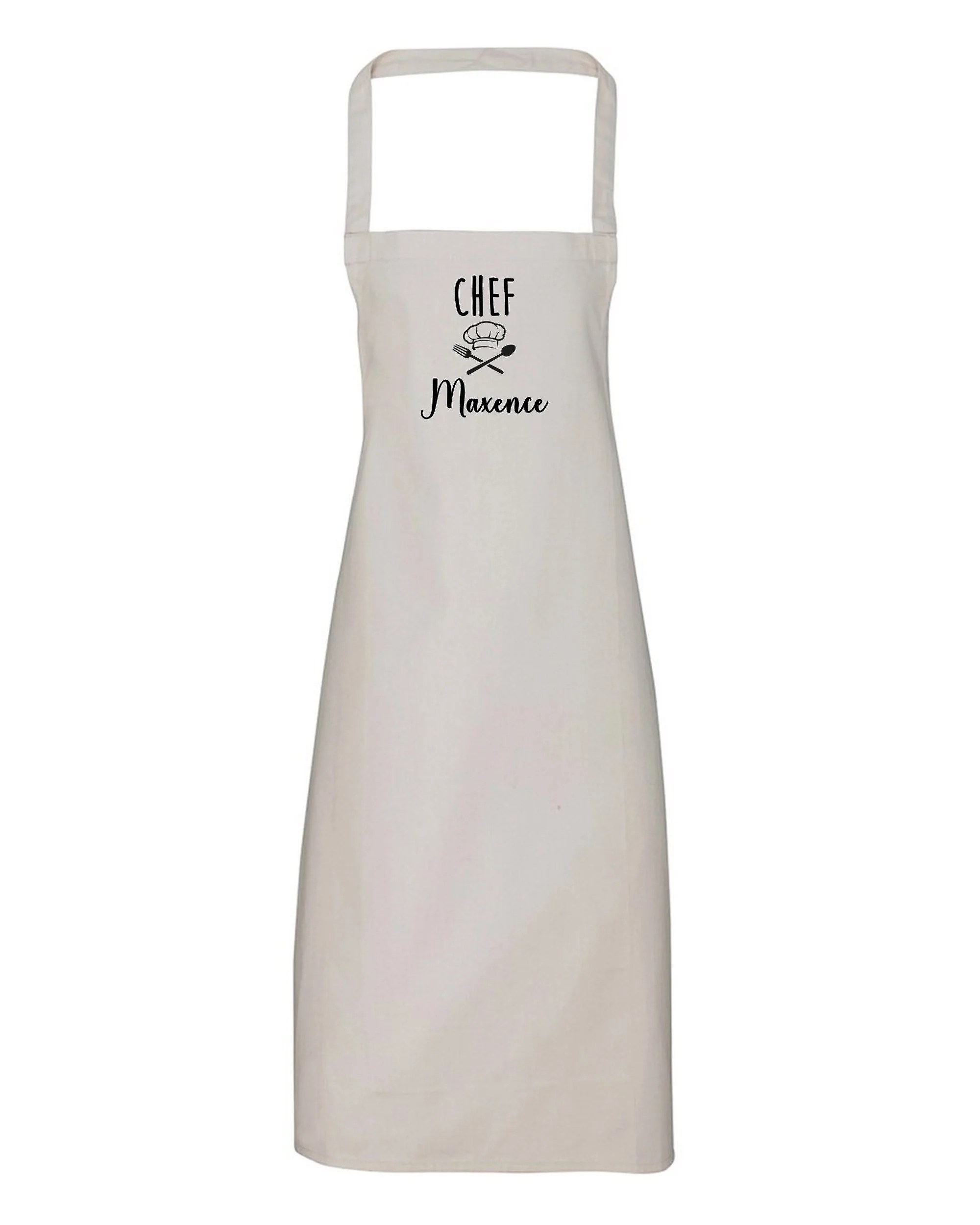 tablier chef personnalise