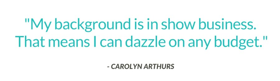 Carolyn Arthurs Interview Quote