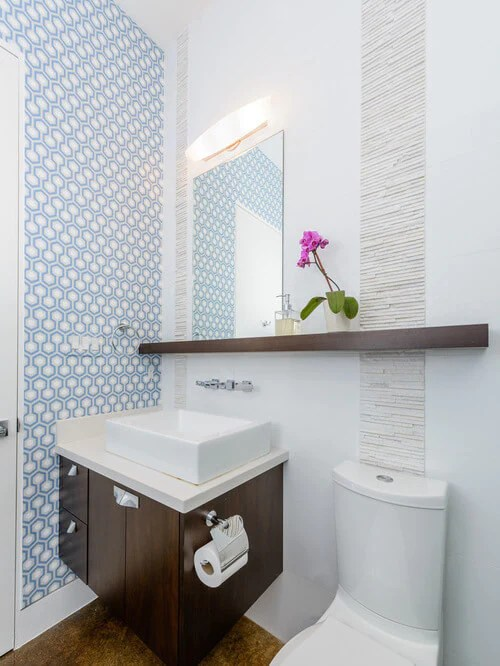 50 Small Bathroom & Shower Ideas | Increase Space Design ... on Bathroom Designs For Small Spaces  id=59132