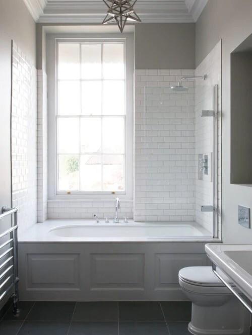 50 Small Bathroom & Shower Ideas | Increase Space Design ... on Small Bathroom Ideas Uk id=62965