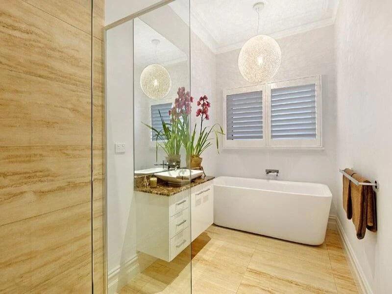50 Small Bathroom & Shower Ideas   Increase Space Design ... on Small Space Small Bathroom Ideas Uk id=47152