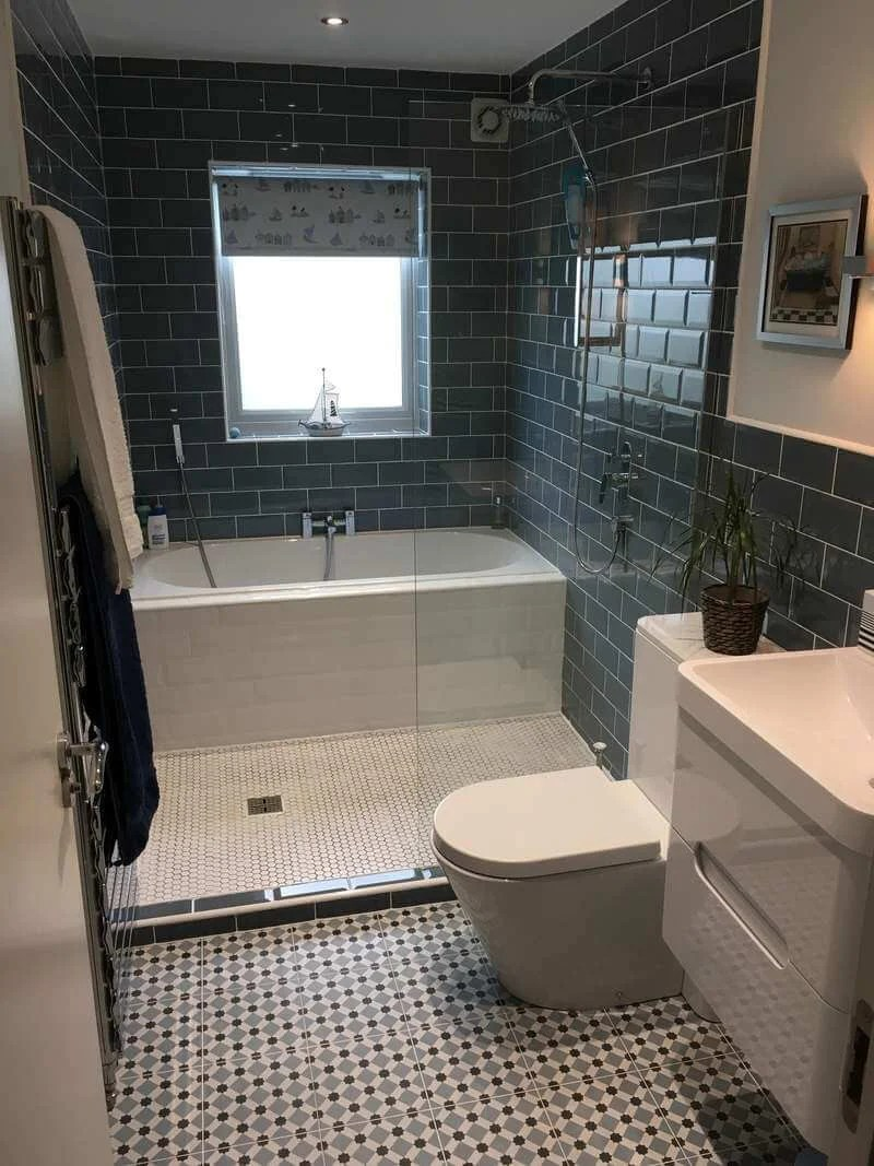 50 Small Bathroom & Shower Ideas | Increase Space Design ... on Bathroom Ideas For Small Space  id=87628