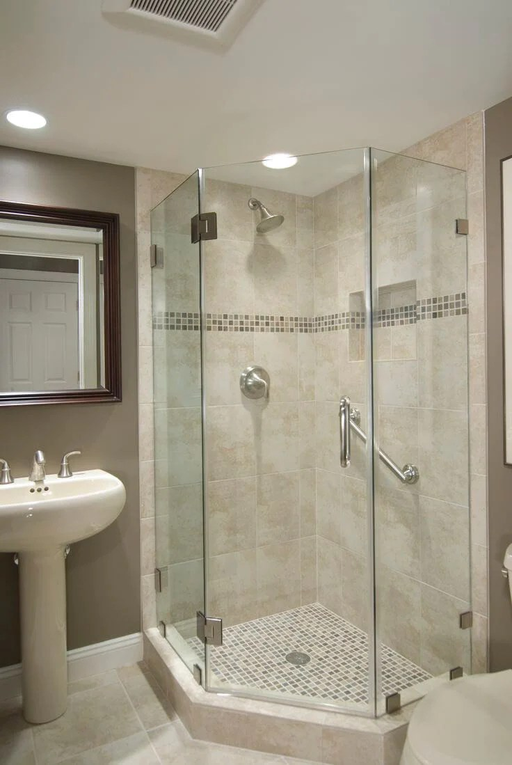 50 Small Bathroom & Shower Ideas | Increase Space Design ... on Bathroom Ideas For Small Space  id=19249