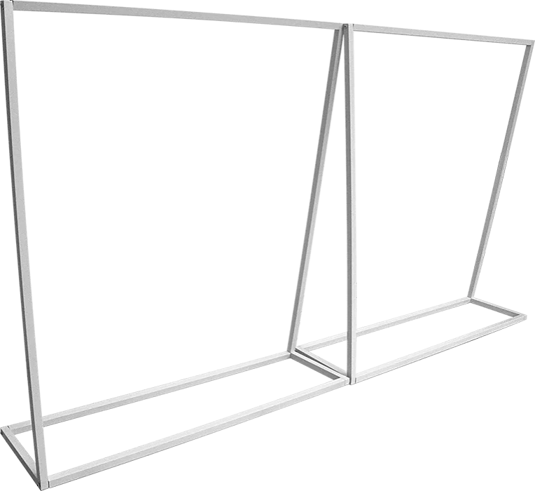 commercial clothing garment rack retail