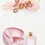 Love Balloon Garland Peach Pink Balloon Expert