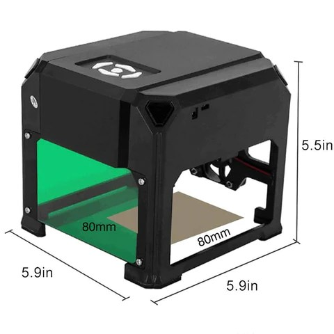 Mini Laser Engraver DIY Logo Printer 3000mw
