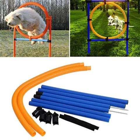 Outdoor Dog Hoop Jumping Training Equipment